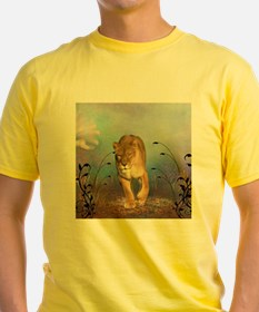 Awesome lioness in a fantasy world T-Shirt
