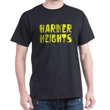 Harker Heights Faded (Gold) T-Shirt