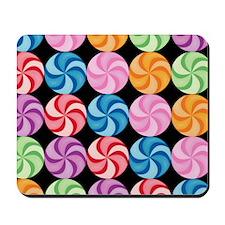 Swirly Candies Mousepad