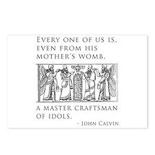 John Calvin Idol Craftsman from birth Postcards (P