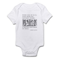 John Calvin Idol Craftsman from birth Infant Bodys