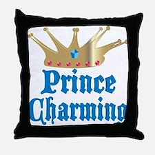 Prince Charming Throw Pillow