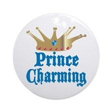 Prince Charming Ornament (Round)