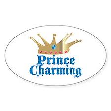 Prince Charming Oval Decal