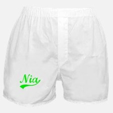 Vintage Nia (Green) Boxer Shorts