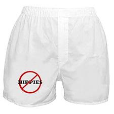 NO HIPPIES Boxer Shorts