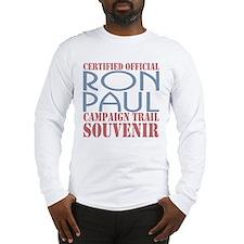 Official Ron Paul Campaign Souvenir Long Sleeve T-