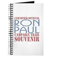 Official Ron Paul Campaign Souvenir Journal