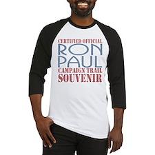 Official Ron Paul Campaign Souvenir Baseball Jerse