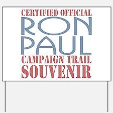 Official Ron Paul Campaign Souvenir Yard Sign
