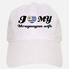 I love my Uruguayan wife Baseball Baseball Cap