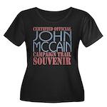 Official McCain Campaign Souvenir Women's Plus Siz