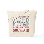 Official McCain Campaign Souvenir Tote Bag