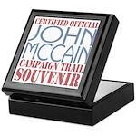 Official McCain Campaign Souvenir Keepsake Box