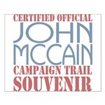 Official McCain Campaign Souvenir Small Poster