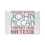 Official McCain Campaign Souvenir Rectangle Magnet