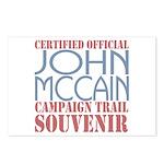 Official McCain Campaign Souvenir Postcards (Packa