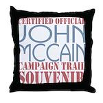 Official McCain Campaign Souvenir Throw Pillow