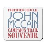 Official McCain Campaign Souvenir Mousepad
