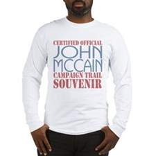 Official McCain Campaign Souvenir Long Sleeve T-Sh