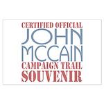 Official McCain Campaign Souvenir Large Poster