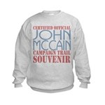 Official McCain Campaign Souvenir Kids Sweatshirt