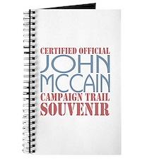 Official McCain Campaign Souvenir Journal