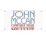 Official McCain Campaign Souvenir Banner