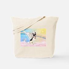 Clouds / Rat Terrier Tote Bag