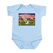 Autumn Angel /Rat Terrier Infant Bodysuit