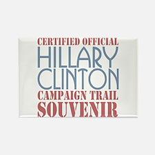 Official Hillary Campaign Souvenir Rectangle Magne