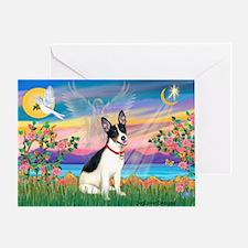 Guardian /Rat Terrier Greeting Card