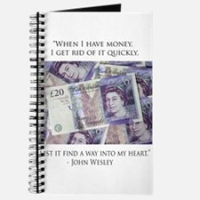 How John Wesley handled money Journal
