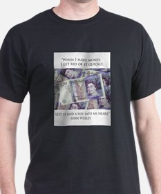 How John Wesley handled money T-Shirt