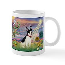 Cloud Angel & Rat Terrier Small Mug