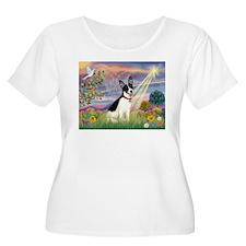 Cloud Angel & Rat Terrier T-Shirt