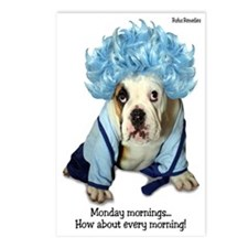 Monday Morning Bulldog Postcards (Package of 8)