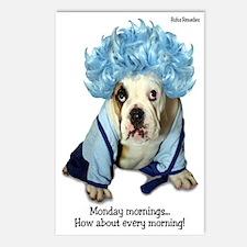 Monday Morning Bulldog Postcards (Package of 8)
