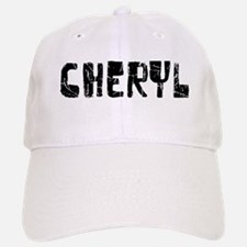 Cheryl Faded (Black) Baseball Baseball Cap