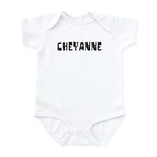 Cheyanne Faded (Black) Infant Bodysuit