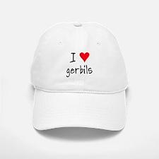 I LOVE Gerbils Baseball Baseball Cap
