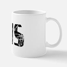 Chris Faded (Black) Mug