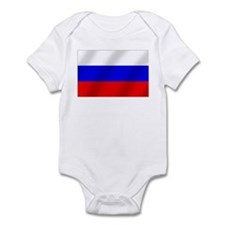 Flag of Russia Infant Bodysuit
