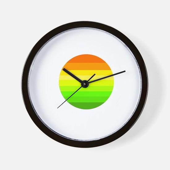 Cool Like my coffee black Wall Clock