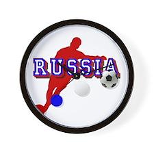 Russian Soccer Player Wall Clock