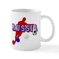 Russian Soccer Player Mug