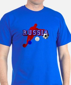 Russian Soccer Player T-Shirt