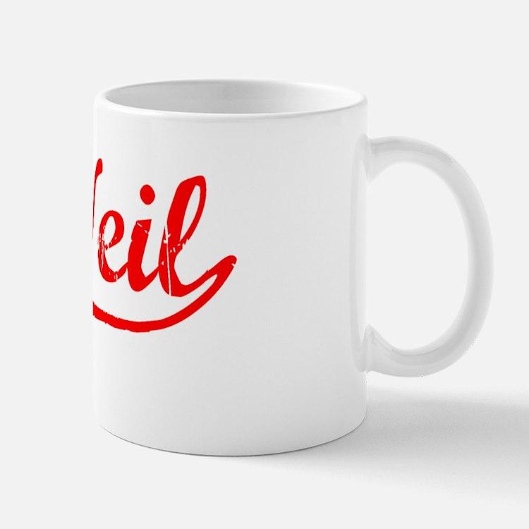 Vintage McNeil (Red) Small Small Mug