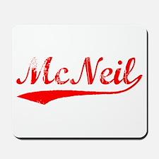 Vintage McNeil (Red) Mousepad