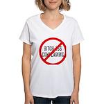 No Bitch-Ass Complaining Women's V-Neck T-Shirt